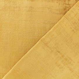 Milan Thevenon velvet fabric - gold x 10cm