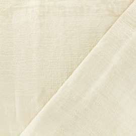 Milan velvet fabric - natural x 10cm