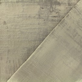 Milan Thevenon velvet fabric - beige x 10cm