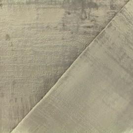Tissu velours Milan Thevenon - ficelle x 10cm