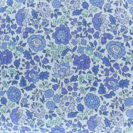 Tissu Liberty - Danjo- bleu x 10cm