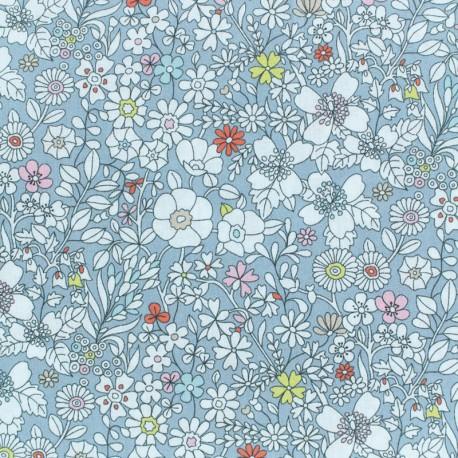 Liberty fabric - June's meadow - grey x 10cm