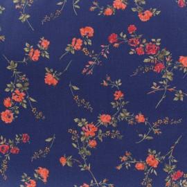 Tissu Liberty - Elizabeth - bleu x 10cm