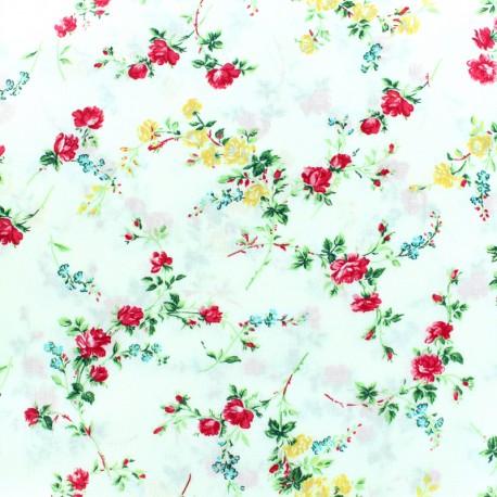 Tissu Liberty - Elizabeth - crème x 10cm