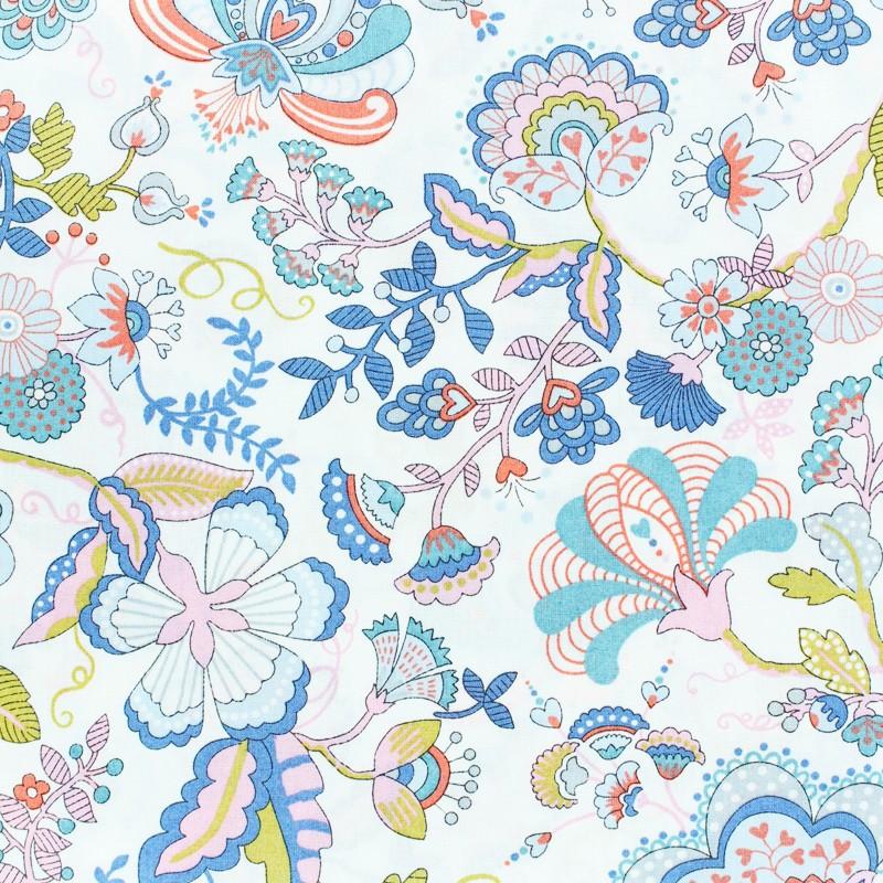 Tissu Liberty - Mabelle- rose x 10cm 873b9d743ad