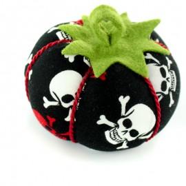 Porte épingles tomate Pirates - noir