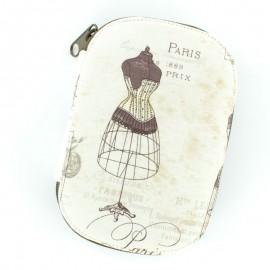 Pochette à couture Paris Fashion 1889 - beige