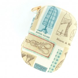 Sewing pouch Paris Couture - beige