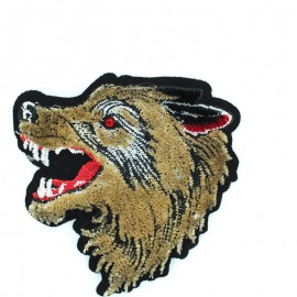 Embroidered scorpio iron on patch 8x11cm