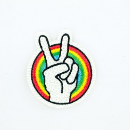 Thermocollant Rainbow Peace