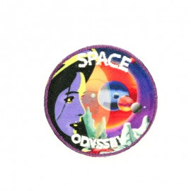 Space odyssey iron-on patch