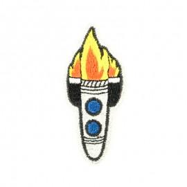 Thermocollant Fusée dans l'espace paillette