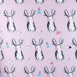 Tissu déperlant souple Rabbit - pink x 15cm
