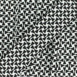 Biais Petit Triangle 30 mm - noir x 1m