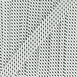 Biais Petit Connecteur 18 mm - noir x 1m