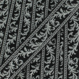 Galon Jacquard Arabesque - argent x 1m