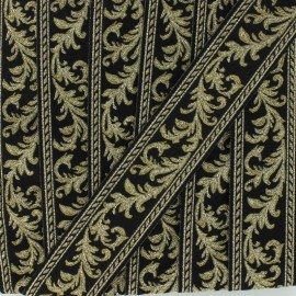Arabesque Jacquard ribbon - silver x 1m