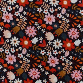 Dashwood cotton fabric Flock - Floral x 10cm