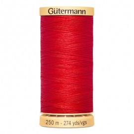 Bobine de Fil à coudre coton naturel Gutermann 250m - N°1974