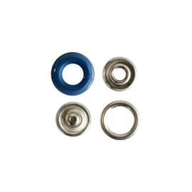 Bouton pression polyamide à griffes - bleu saphir