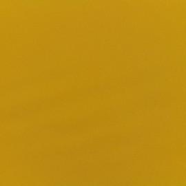 Tissu Gabardine Lycra satiné - tournesol x 10cm