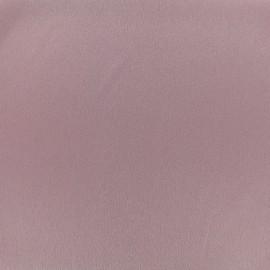 Tissu crêpe envers satin - violine x 10cm