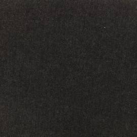 Tissu jeans gris foncé x 10cm