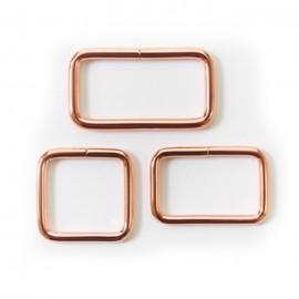 Boucle rectangulaire cuivre