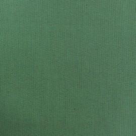 Tissu Coton uni vert sauge x 10cm