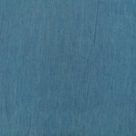 Tissu jeans fluide - bleached x 10cm