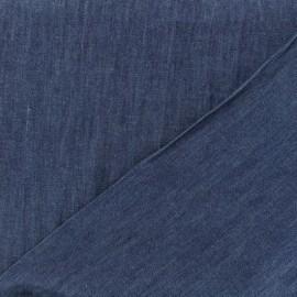Tissu jeans fluide indigo x 10cm