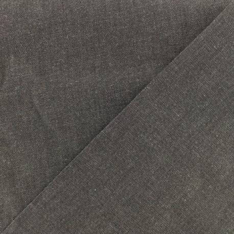 Tissu jeans fluide denim gris x 10cm