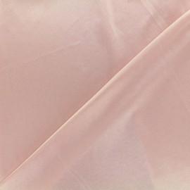 Tissu doublure jersey - rose nude x 10cm