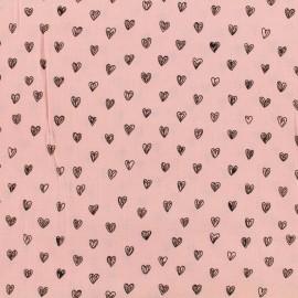 Tissu by Penelope® Radiance viscose - rose x 10cm