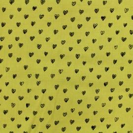 Tissu by Penelope® Radiance viscose - moutarde x 10cm