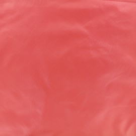 Glossy polyester fabric - strawberry x 10cm