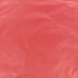Tissu toile parachute Glossy - rouge bisou x 10cm