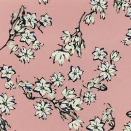 Satiny Lycra Gabardine Fabric Cherry Blossom by Penelope® - light pink x 10cm