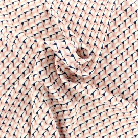 Tissu by Penelope® Royal micro satin - rose x 10cm