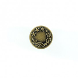 Star Laurel jeans button - bronze