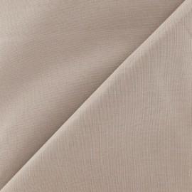 Tissu Coton uni - havane x 10cm