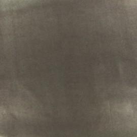 Tissu enduit PUL certifié Oeko-tex - chocolat x 10cm