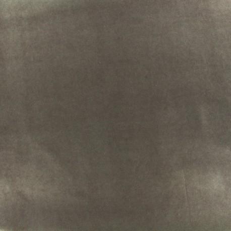Tissu enduit PUL certifié Oeko-tex - gris x 10cm