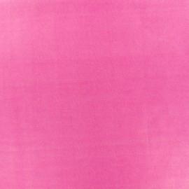 Tissu enduit PUL certifié Oeko-tex - rose azalée x 10cm