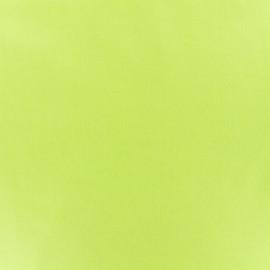 Tissu enduit PUL certifié Oeko-tex - vert anis x 10cm