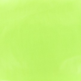 Tissu enduit PUL certifié Oeko-tex - vert lime x 10cm