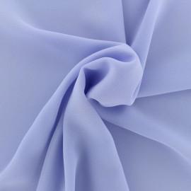 Tissu crêpe léger lilas x 10cm