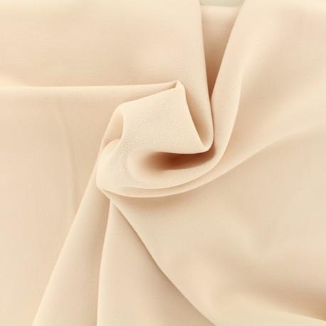 Tissu Crêpe Chemisier - nude x 10cm