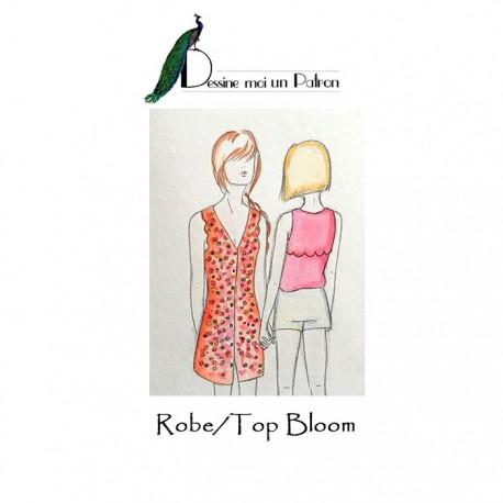 Patron Dessine moi un patron Robe/Top - Bloom