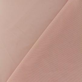 Tissu gainant résille silhouette - rose pale x 10 cm